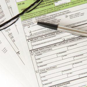 zeznania podatkowe roczne